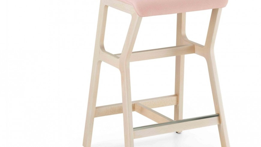 0014-H67-IMB-NHINO-stool-with-structure-in-beech-wood-and-Seile-padded,-stool-with-massel-becch-frame-and-padded-seat