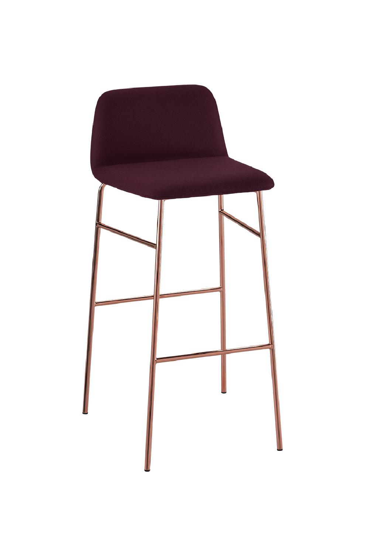 Sgabello Elegante di Design, BARDOT STOOL MET TU