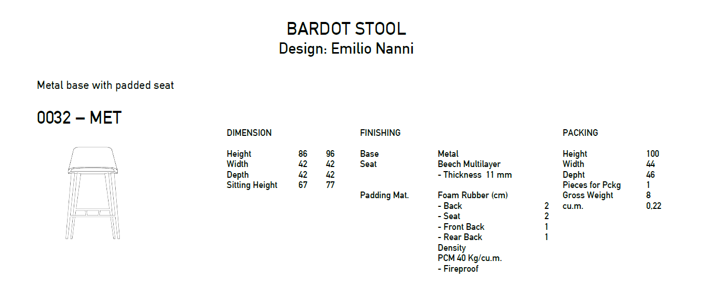 bardot-0032-Stool-with-and