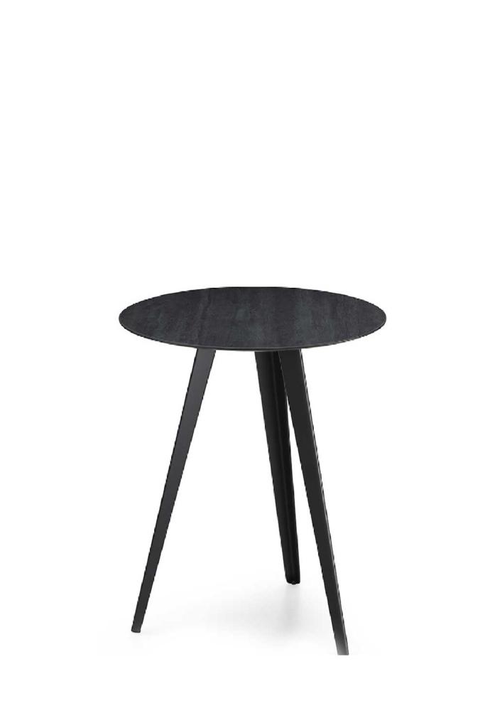 Tavolo con Piano Rotondo, AKY CONTRACT 3 MET