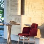 Bardot bracciolo 0037+ tavolo Niels