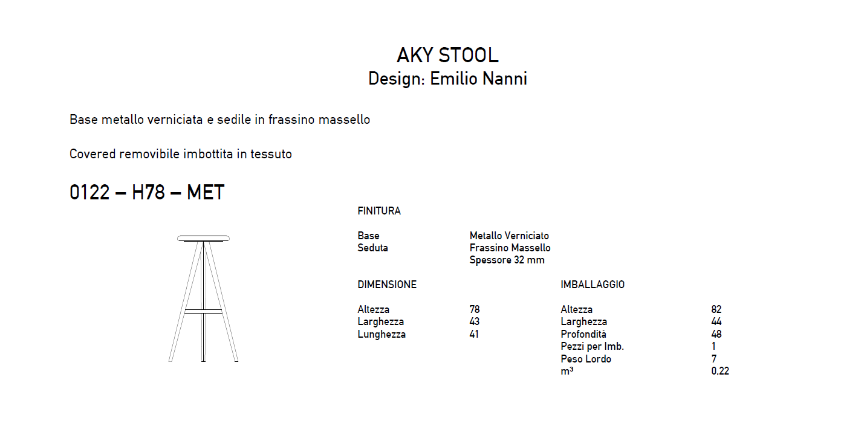 Aky-stool-H78
