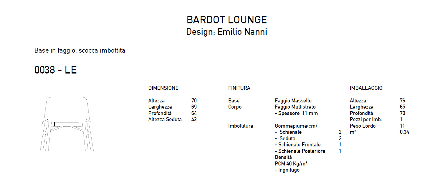 Bardot lounge it