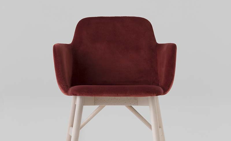 armchair 0037 by CB uph bardot