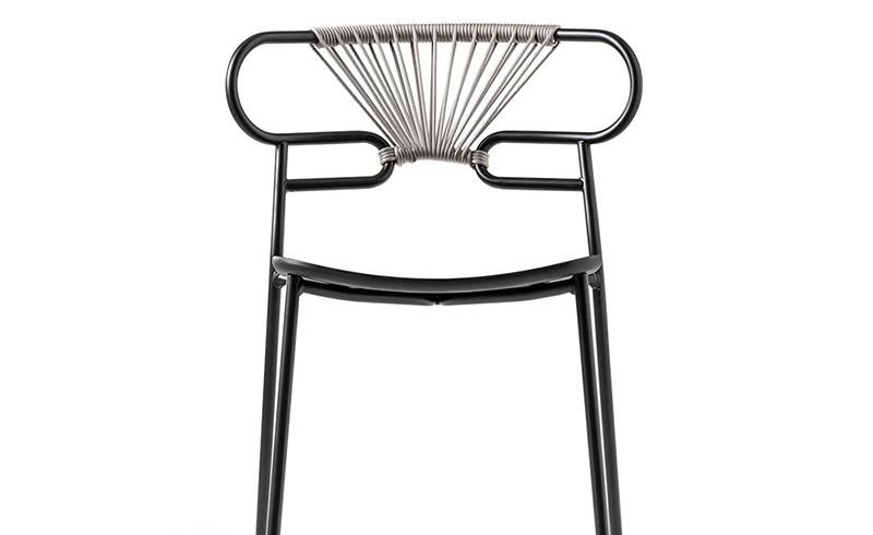 chair 0048-met-cross-pu