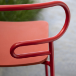 particular backrest Stool Genoa