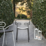 Genoa brac chair with PU