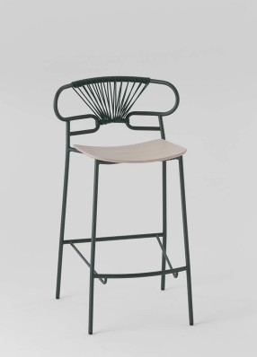 GENOA STOOL MET-CROSS