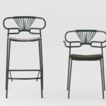 stool 0049 met-cross +armchair0048 met-cross-IM