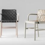 armchair Julie 0022-CU-LE-AR+0023-CU-AR