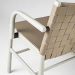 part armchair 0022-CU-LE+Ar