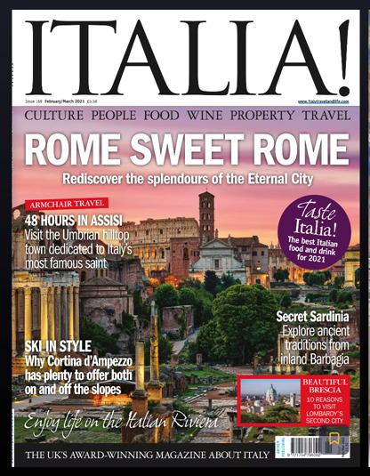 , TrabÀ sulla Rivista Italia! Magazine di Febbraio e Marzo 2021